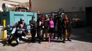NDK 2013 Metal Gear Photoshoot full group by jinxedcynder