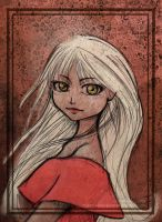 A girl named Cyllan by Celebel-Quettandil