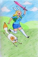 Its Adventure Time! by c-beni