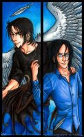 Julian and Frost Bookmark set by psycrowe