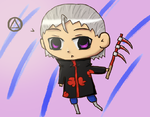 Chibi Hidan by stantlers