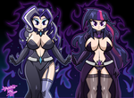 Commission: Nightamare Beauties by DANMAKUMAN