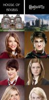 House of Anubis vs. Hogwarts by fruitloopcreamsoda
