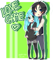 LOVE GAME / COMISION by Happy-Tan