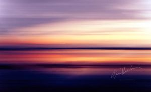 Panned Sunset by Elenihrivesse