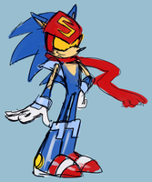 Sonicman the Sonic by knockabiller