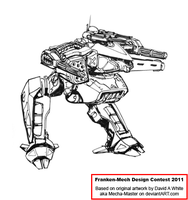 Diamond Dog Assault Mech by Excalibur-T005