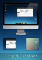 Deepin Skinpack For Windows 7/8/8.1 by TheDhruv