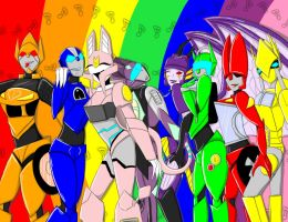 Colors of the rainbow by assassinness