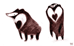Sun Bears by sketchinthoughts