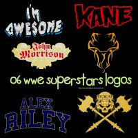 .O6 WWE Superstars logos by SmartAndPowerful