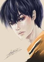 [Haikyuu!!] Kageyama Tobio by Ze-RoFruits