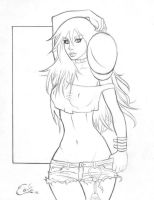 Poison from Final Fight sketch by Colaffee