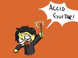 Accio Guitar by pettyartist