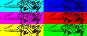 Link's eyes go popart. by ReloC3