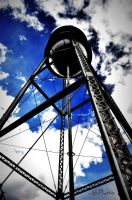 water tower by rocksoldierz
