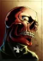 Red Skull by paneseeker