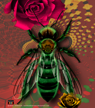 The Queen Bee by Karolusdiversion