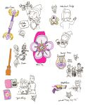 Items Of Fami by ojamajomary