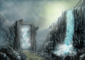 Underworld Gateway by Ferain