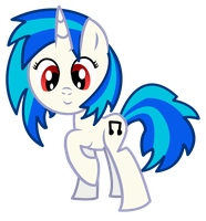 Vinyl Scratch by dragonpony