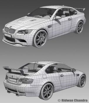BMW M3 E92 wires by MeganeRid