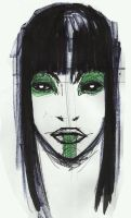green makeup by concho