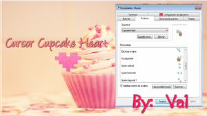 Cursor CupcakeHeart' by TutorialesVaale