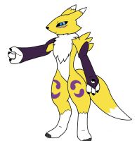 My First Renamon fanart by AlexanderSie