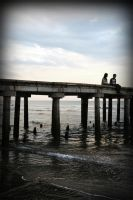 Love at the pier by williamlie