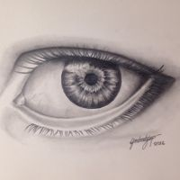 Eye in graphite  by bjorn927