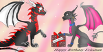 An explosive birthday by Darkpaw-Lights
