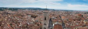 Florence Skyview by MarcoFiorilli