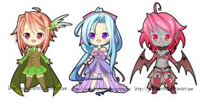 New Chibi Auction 2 by YuikoHeartless