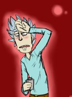 Adventures o-on hold morty... by Glossomer