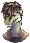Toothy Grin by notecardPasta