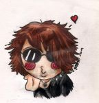 Chibi Ruki--Kisu... by Green-misstress87