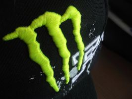 Monster Energy Hat by pyromantic-prince