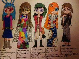 Nightmare Dresses design v1 by 1313cookie