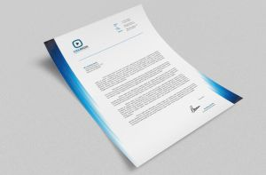 Corporate Letterhead vol.17 with MS Word DOC/DOCX by nazdrag
