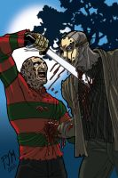 Jason vs Freddy 2 by PJMarts1