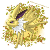 Crystal Jolteon by fluffycawwot