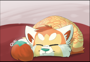 Napping Torrie by Chiiboo
