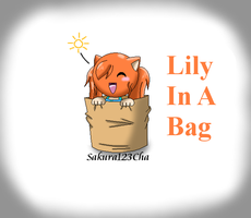 Commish: Lily In A Bag by Sakura123Cha