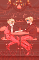 usuk :: sweethearts week // day 1 by CaptainJellyroll
