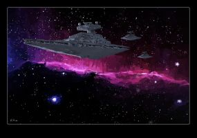 Star Destroyer by Galeart