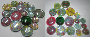 Worry Stones and Magnets by lcponymerch