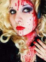 halloween: fashion victim by itashleys-makeup