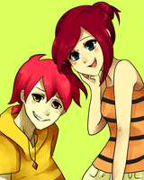 Orbette and Payden by Coffeene