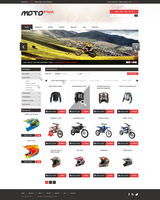 web design - MotoStick by Shizoy